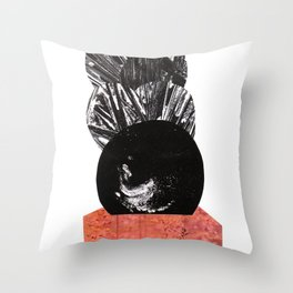 Strange and New Throw Pillow