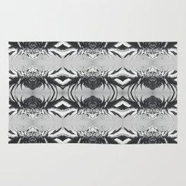 Silver Pineapple Rug