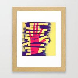 Caught Red Handed Framed Art Print