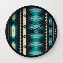 American Native Pattern No. 174 Wall Clock