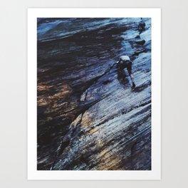 Climb to the top Art Print