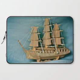 Sailing Into The New Year Laptop Sleeve