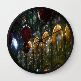 Christmas Covent Garden London 2 Wall Clock
