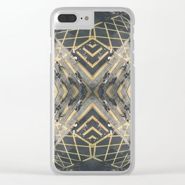 Hong Kong Kaleidoscope 06 Clear iPhone Case