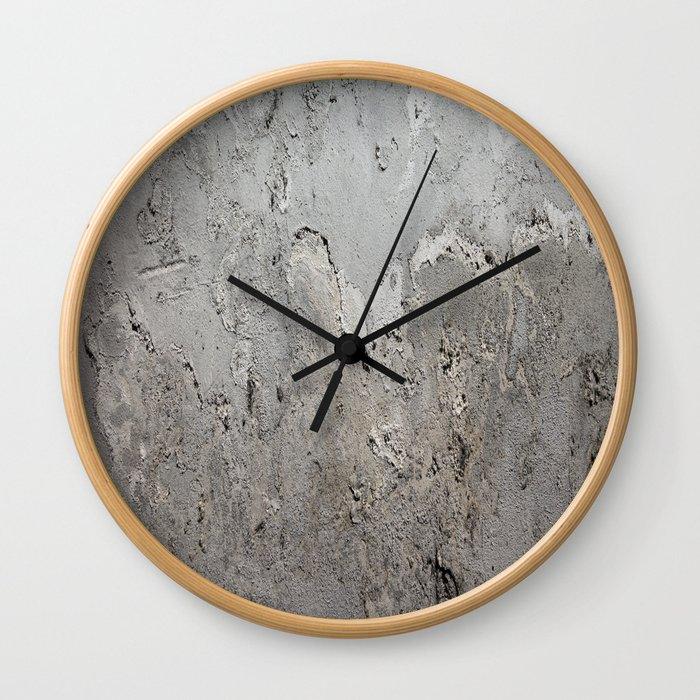 Textured Wall rustic decor Wall Clock