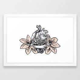 azalee Framed Art Print