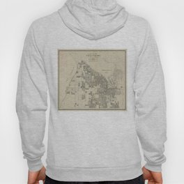 Vintage Map of Tacoma Washington (1907) Hoody