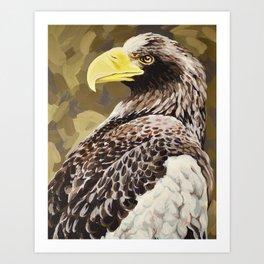 Steller's Sea Eagle Art Print
