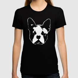 GIFTS FOR THE  BOSTON TERRIER DOG LOVER GIFT WRAPPED FOR YOU FROM MONOFACES T-shirt