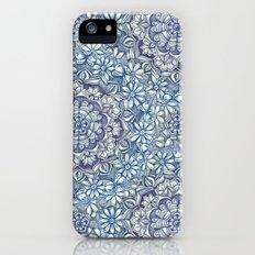 Indigo Medallion with Butterflies & Daisy Chains Slim Case iPhone SE