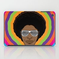 afro iPad Cases featuring Afro Funky by Roberlan Borges