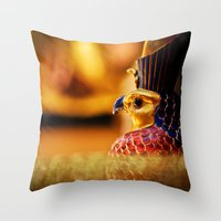 egypt Throw Pillows featuring Egypt by Marcus Meisler