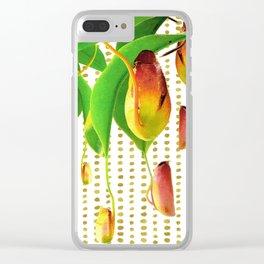 Carnivorous Plants Clear iPhone Case