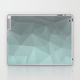 Light Steel Blue Polygon Laptop & iPad Skin