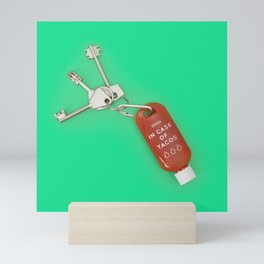 In case of tacos Mini Art Print