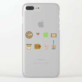Partying, Poker & Money Nevada Day Clear iPhone Case