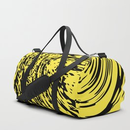 Aggressive yellow marble pattern Duffle Bag
