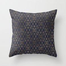 Modern Art Deco Geometric 2 Throw Pillow