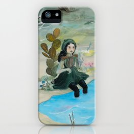 Cave Witch iPhone Case