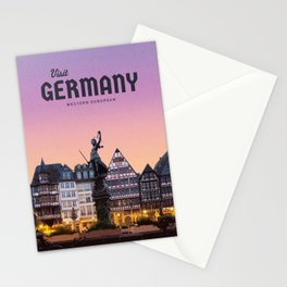 Visit Germany Stationery Cards