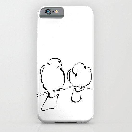 Bird Couple iPhone & iPod Case