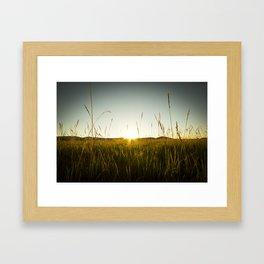 Colorado Sunset Framed Art Print