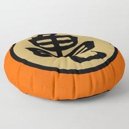 Kame kanji Floor Pillow