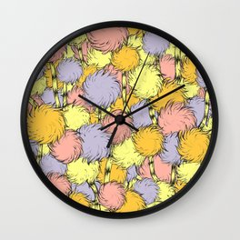 Truffula Wall Clock