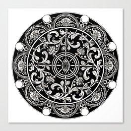 EP.  HYPNOTICSKULL III Canvas Print