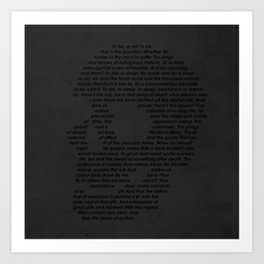And lose the name of action Art Print