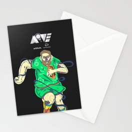 Rugby  Stationery Cards