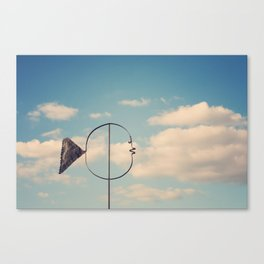 Whimsical Fish in the Sky Canvas Print