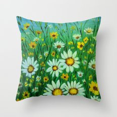 Dancing in the sunlight Throw Pillow