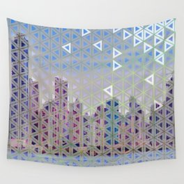 Triangled Skyline Wall Tapestry
