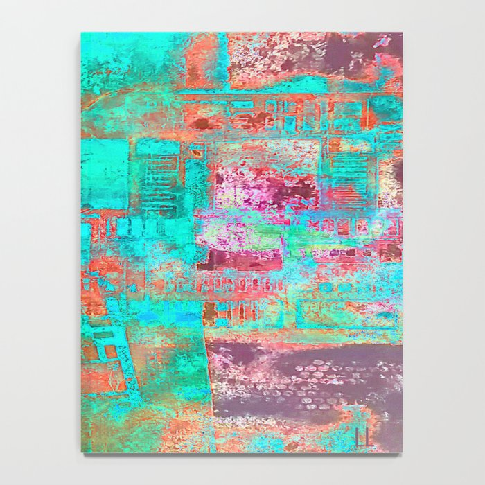 Abstract Ladder Notebook