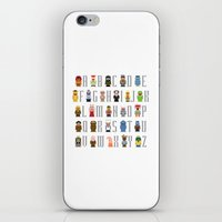 muppet iPhone & iPod Skins featuring Pixel Muppet Show Alphabet by PixelPower