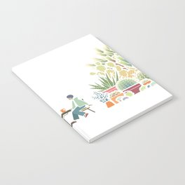 Chai and Cacti - color Notebook