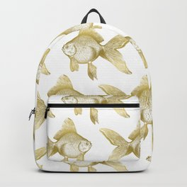 Gold Goldfish Backpack
