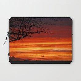 Sunset - Streaky Sky Laptop Sleeve