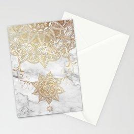 Mandala - Golden drop Stationery Cards