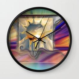 Sunset Carnival Wall Clock