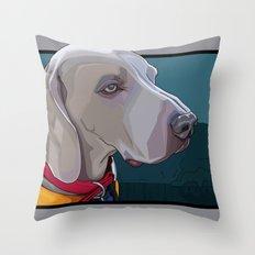Jake Dog Throw Pillow