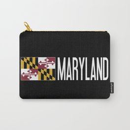 Maryland: Marylander Flag & Maryland Carry-All Pouch