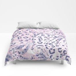 Animal pattern,leopard and zebra skin mixed pattern. Comforters