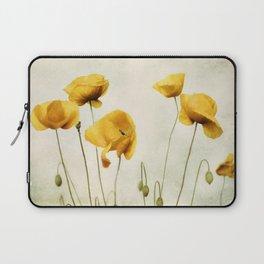 Yellow Poppies Laptop Sleeve