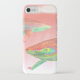 Candy Sharks iPhone Case