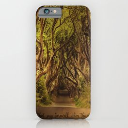 JRR Tolkien Quote  iPhone Case