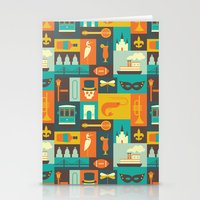 new orleans Stationery Cards featuring New Orleans by Ariel Wilson