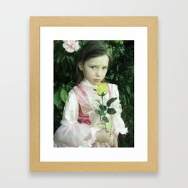 Little Princess 2 Framed Art Print