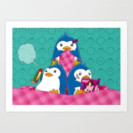 1-2-3 / We are Family! Art Print